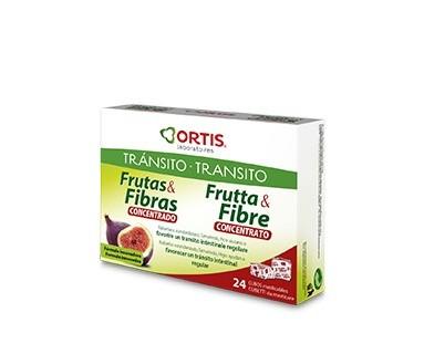 ORTIS CUBITOS DE FRUTA Y FIBRA CONCENTRADO Y TRANSITO