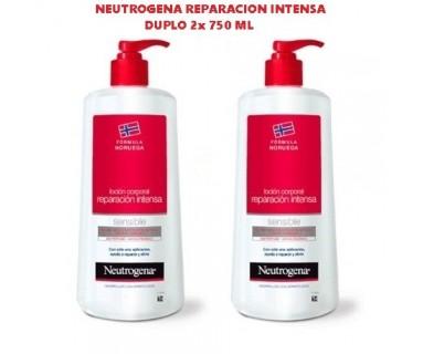 NEUTROGENA LOCION CORPORAL REPARACION INTENSA 2x750 ML