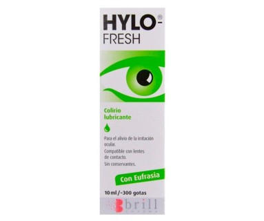 HYLO FRESH COLIRIO LUBRICANTE 10 ML BRILL