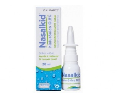 NASALKID HIALURONICO 0.2% SPRAY NASAL 20 ML FERRING