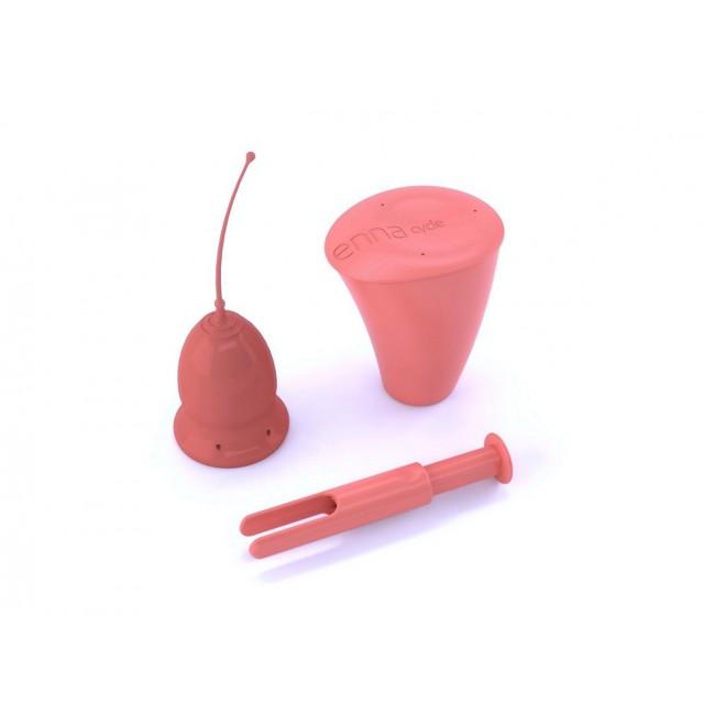 Enna Cycle Copa Menstrual con aplicador Talla S Laboratorio E-nn