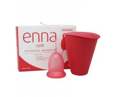 Enna Cycle Copa Menstrual con aplicador Talla L Laboratorio E-nn