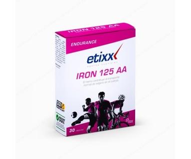 IRON 125 AA 30 CAPSULAS LABORATORIO ETIXX