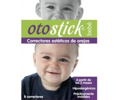 OTOSTICK BEBÉS CORRECTORES ESTÉTICOS DE OREJAS 8 UNIDADES
