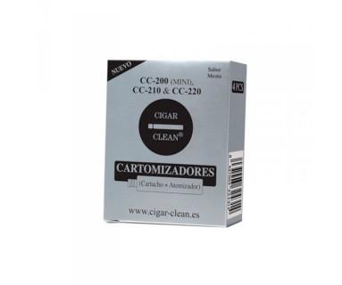 CARTUCHOS CIGAR-CLEAN CC200/210/220 4 UNIDADES SABOR MENTA